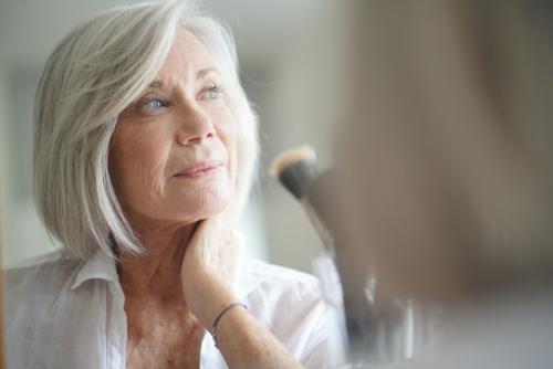 Woman considering Cataract Surgery